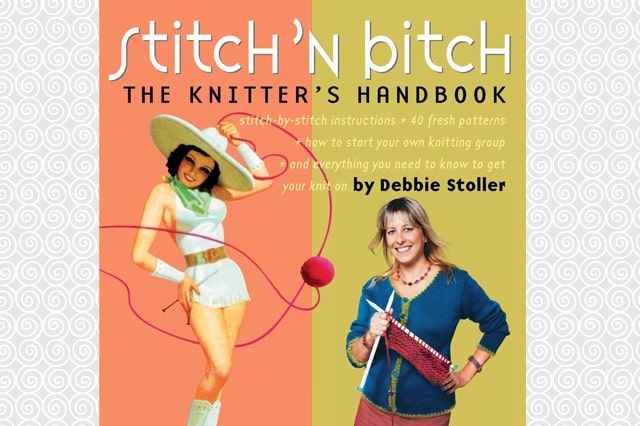 Βιβλίο πλεξίματος Stitch 'n Bitch: The Knitter's Handbook 1