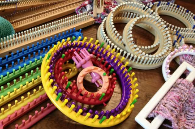 Πλέξιμο με τελάρα πλεξίματος (knitting looms) 4