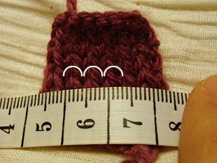 Πλεκτά γάντια χωρίς δάκτυλα 2