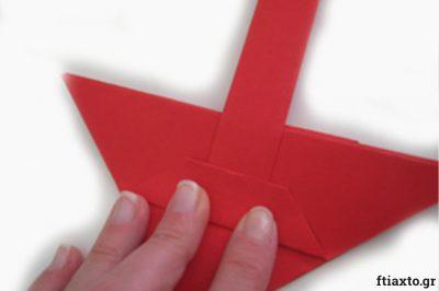 Πασχαλιάτικα καλαθάκια origami 14
