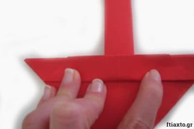 Πασχαλιάτικα καλαθάκια origami 15