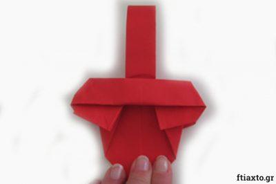 Πασχαλιάτικα καλαθάκια origami 19