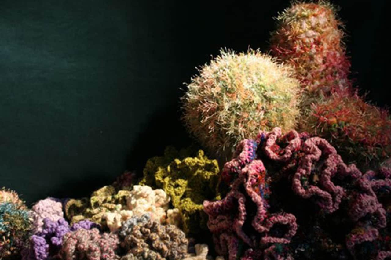 Kοράλλια  φτιαγμένα με βελονάκι 1