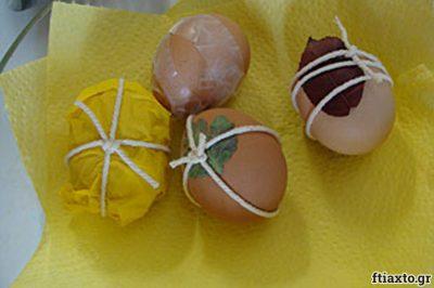 Βάφουμε αυγά 5