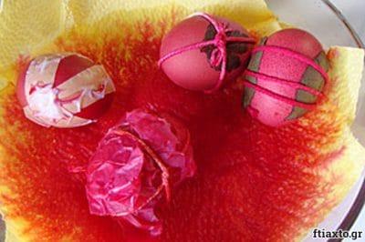 Βάφουμε αυγά 7