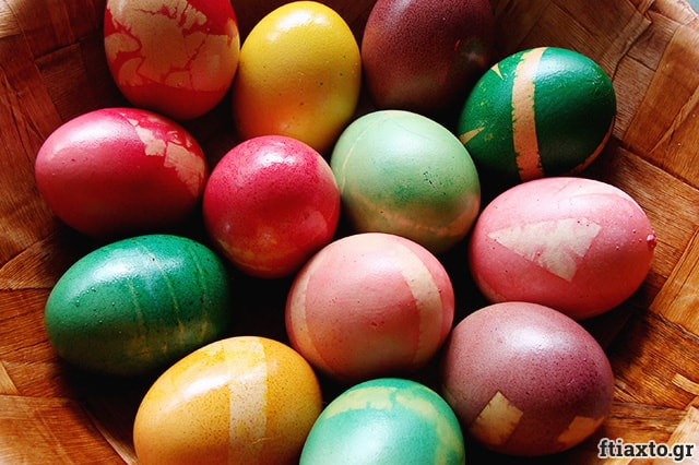 Βάφουμε αυγά 1