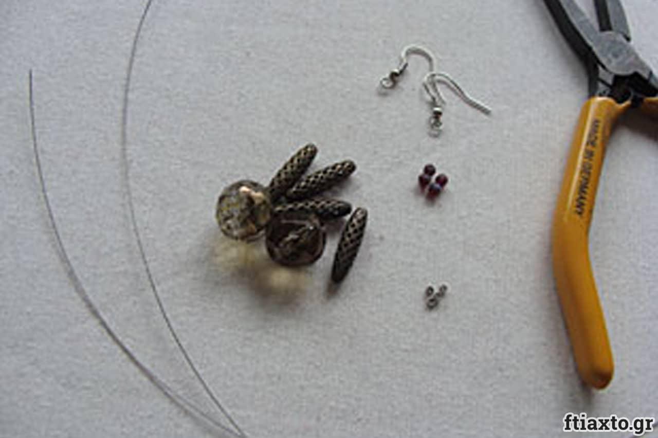 Σκουλαρίκια με σύρμα 2