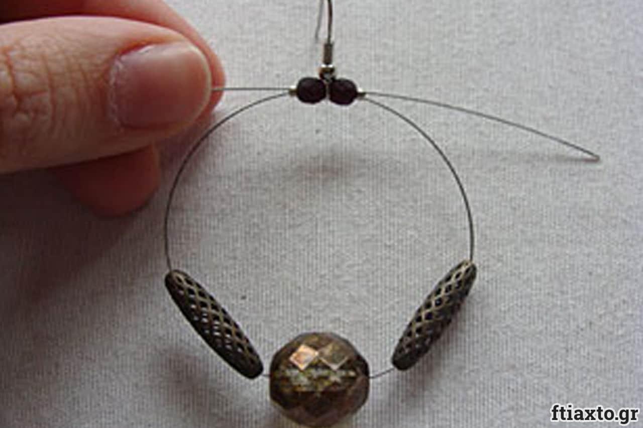 Σκουλαρίκια με σύρμα 6