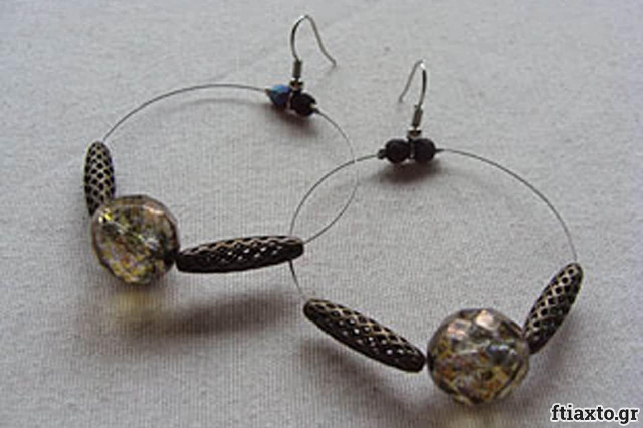 Σκουλαρίκια με σύρμα 1