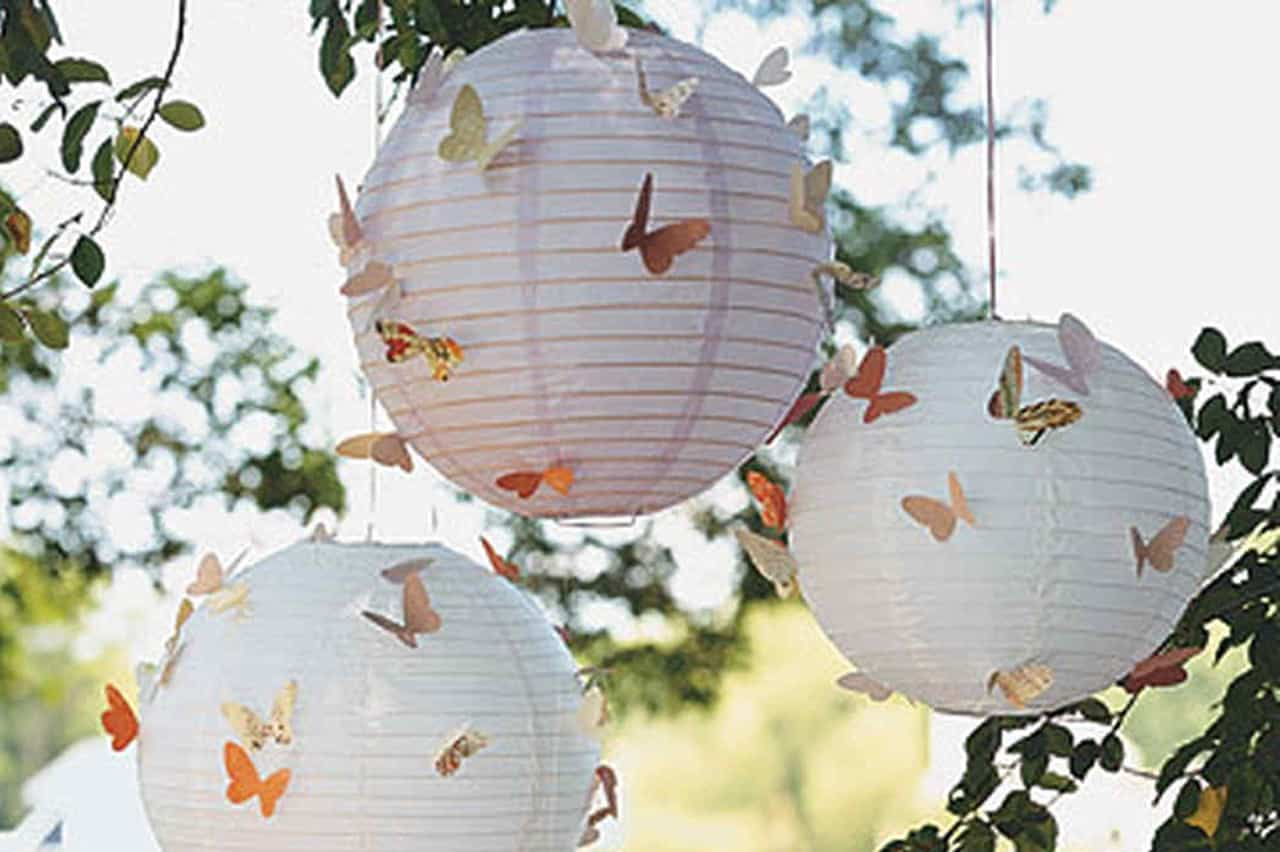Διακόσμηση με πεταλούδες 1