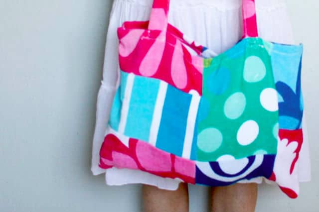Τσάντα από πετσέτα θαλάσσης 1