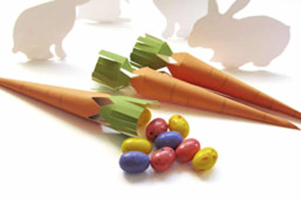 Εύκολα πασχαλινά καρότα 1