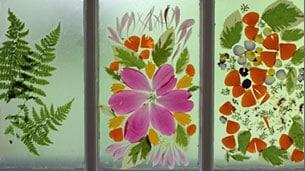 door-flowers