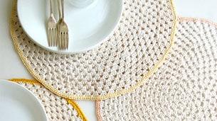 crochet-placemats