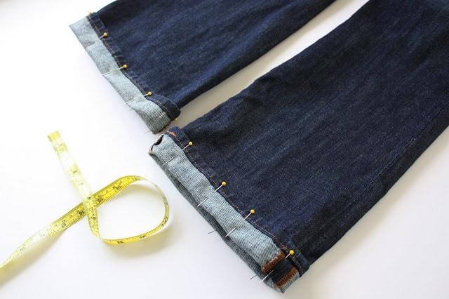 Πως να κοντύνεις παντελόνια
