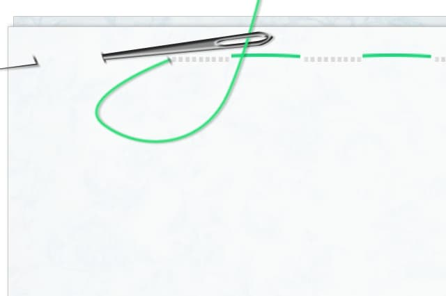 b812768f010 Βασικές Βελονιές: Τρύπωμα - ftiaxto.gr