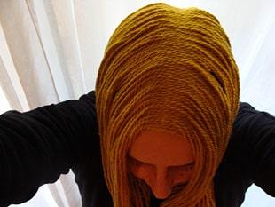 Περούκα από νήμα πλεξίματος 9