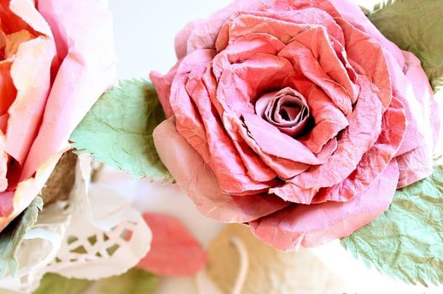 Λουλούδια από χαρτί 1