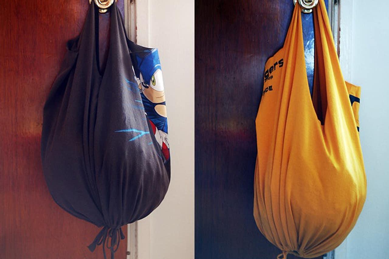 Τσάντα από μπλουζάκι χωρίς ράψιμο 1