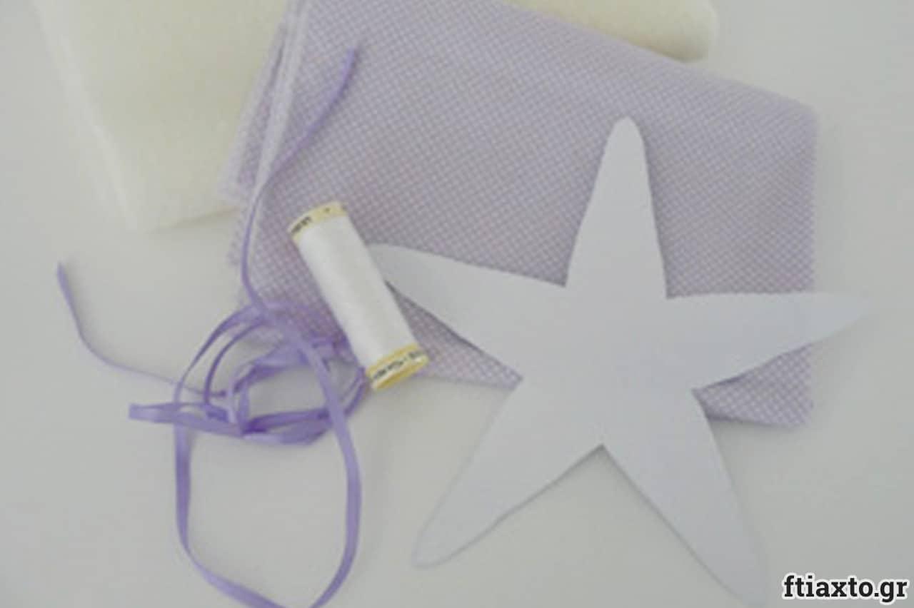 Λαμπάδα με φουσκωτό αστερία 2