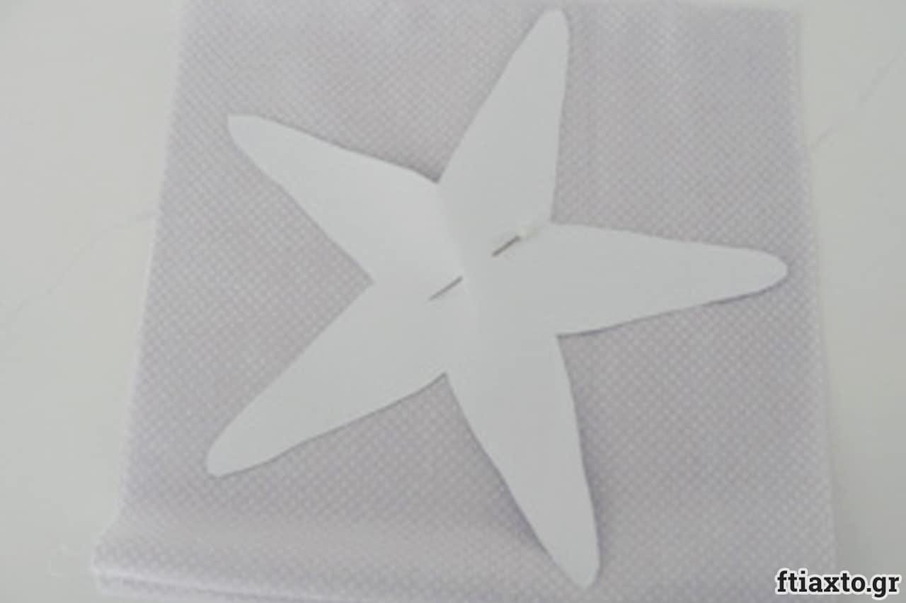 Λαμπάδα με φουσκωτό αστερία 3