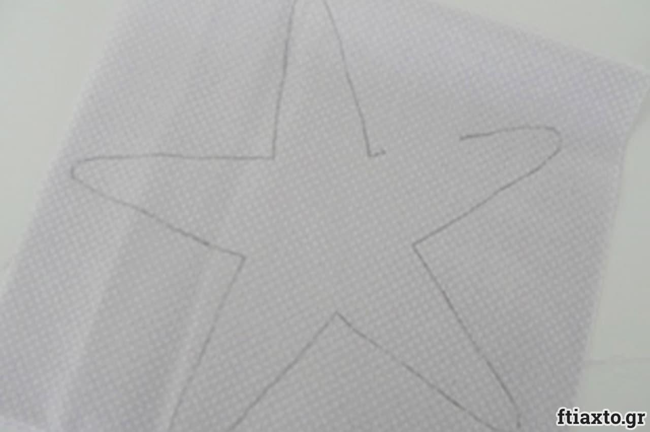 Λαμπάδα με φουσκωτό αστερία 4