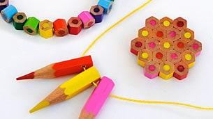 pencil-beads