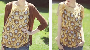 scarf-blouse