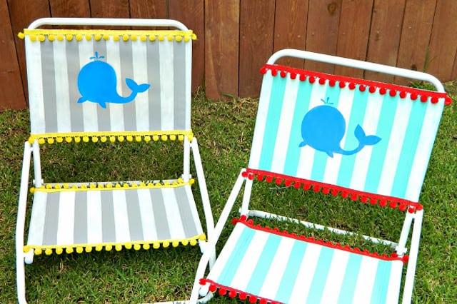 Καρέκλα παραλίας με το δικό σου στιλ 1