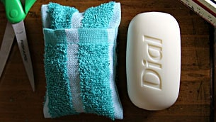 soap-towel