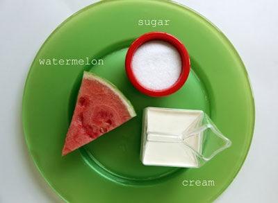 Παγωτό καρπούζι