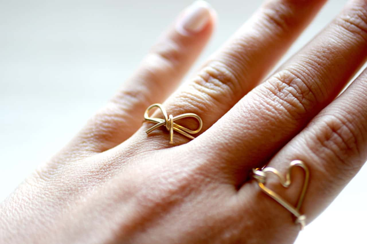 Δαχτυλίδι φιογκάκι 5