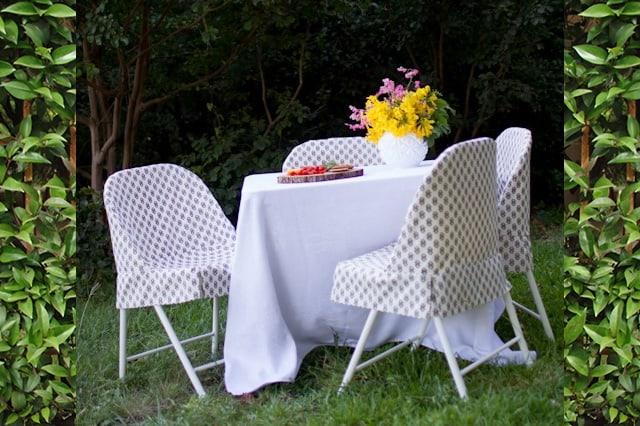 Καλύματα για καρέκλες που διπλώνουν