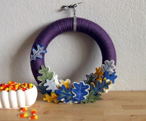 Φθινοπωρινά διακοσμητικά στεφάνια 4