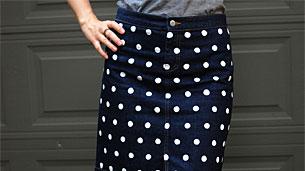 polka-skirt