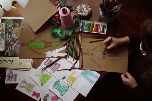 Η δημιουργική διαδικασία της Helen Rodel 1
