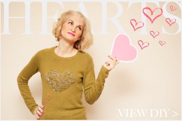 Διακόσμηση πουλόβερ με παραμάνες 4