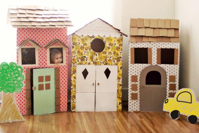 Σπίτια από χαρτόνι 3