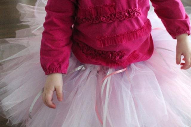 Εύκολη φούστα tutu από τούλι 3