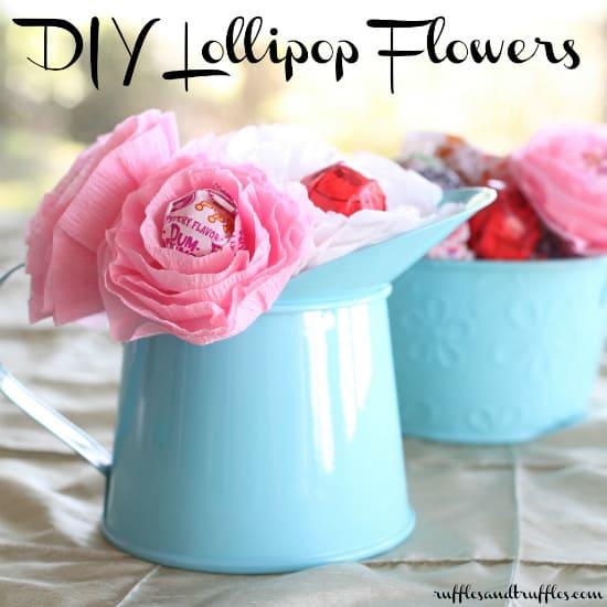 Ιδέες για χειροποίητα λουλούδια 5