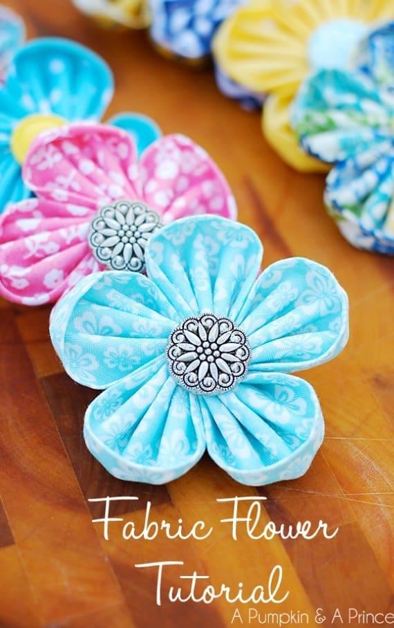 Ιδέες για χειροποίητα λουλούδια 2