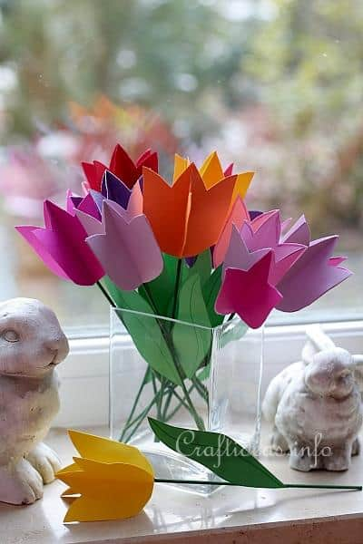 Ιδέες για χειροποίητα λουλούδια 6