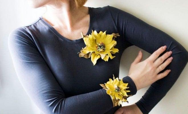 Ιδέες για χειροποίητα λουλούδια 4