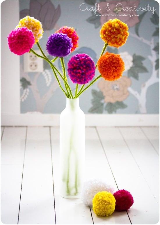 Ιδέες για χειροποίητα λουλούδια 7