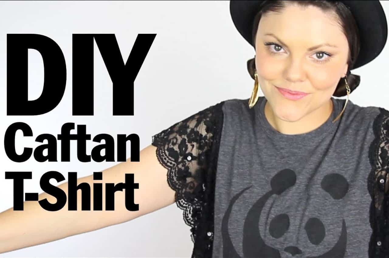 Ροκ μπλουζάκι με δαντέλα 1