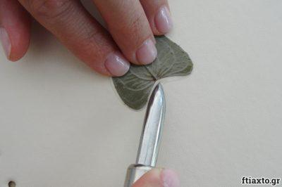 Κοσμήματα απο αποξηραμένα φύλλα 5