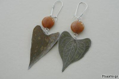 Κοσμήματα απο αποξηραμένα φύλλα 8