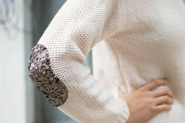 Ανανέωση πουλόβερ με παγιέτες 1