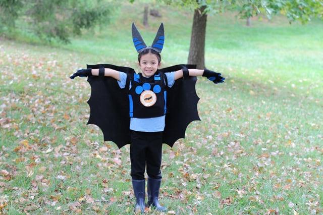 Παιδική αποκριάτικη στολή νυχτερίδα 1