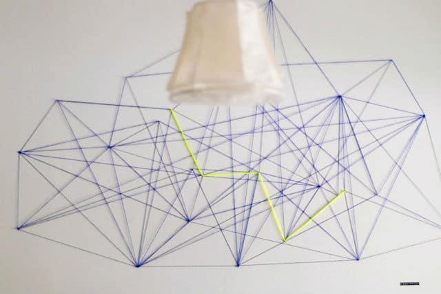 Τέχνη με κλωστές για τον τοίχο σου 1